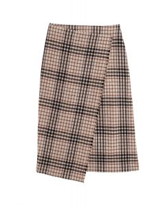 Dagmar Darda Long Skirt Camel Check