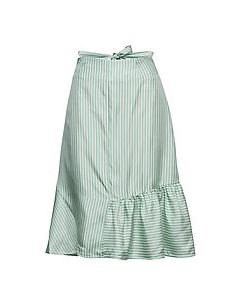 FWSS Beate Mint Stripe Skjørt