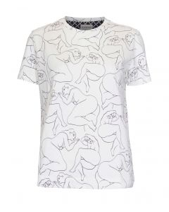 By Malene Birger Hvit T-shirt
